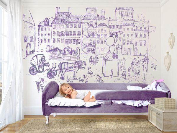 Kinderbett Royal Jugendbett Stoff Premieum Qualität