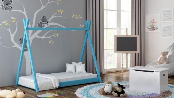 Kinderbett TIPI ohne Matratze Massivholz