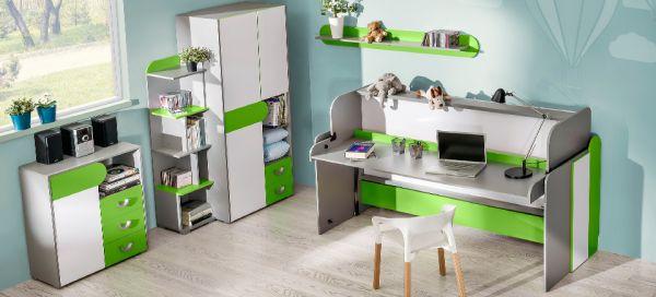 Jugendbett Future Bett Und Schreibtisch In Einem Kinderbettenweltde