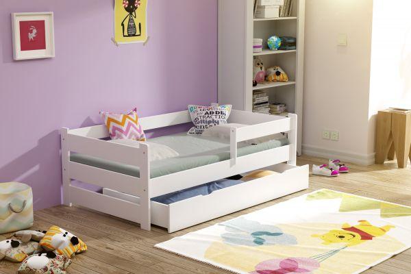 Kinderbett Lucky Plus Massivholz incl. Matratze