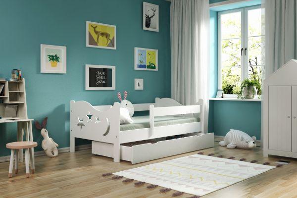 Kinderbett Chrisi incl. Schublade Lattenrost und Matratze